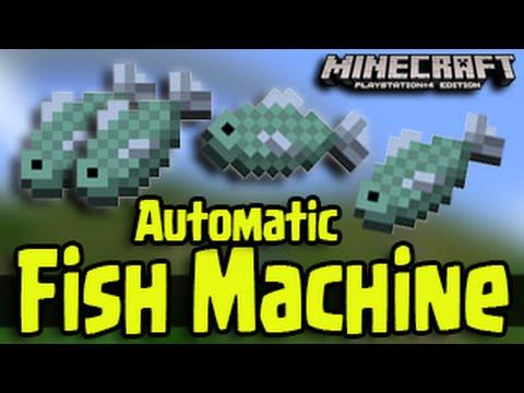 Minecraft PS3, PS4, Xbox, Wii U – Automatic Fishing Machine