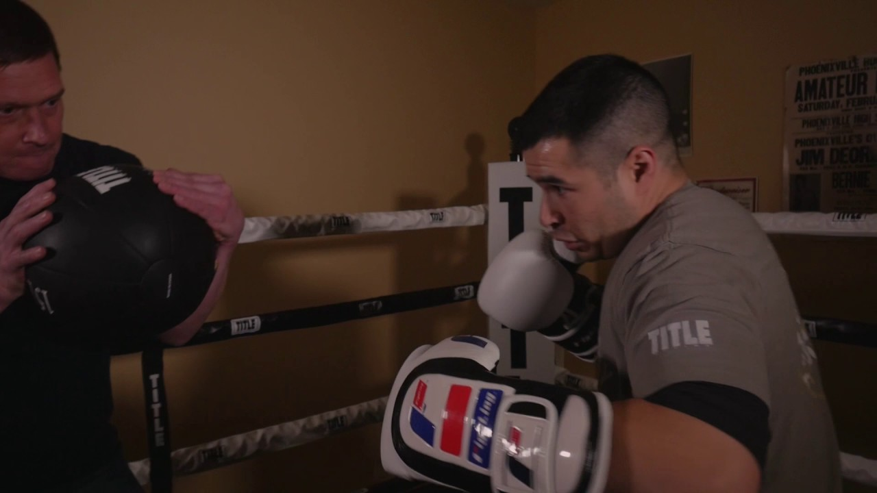 Mix It Up with a Medicine Ball - TITLE Boxing - Old School Boxing Training
