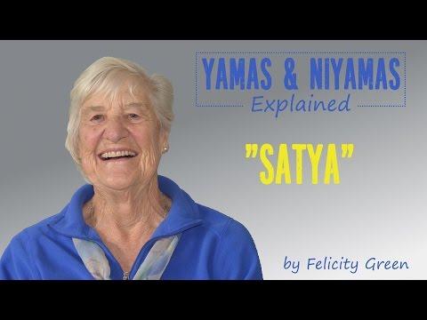 Yamas & Niyamas Explained: Satya
