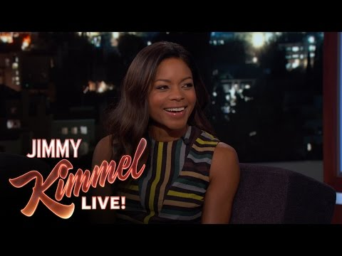 Naomie Harris on Golden Globes Date & Dress