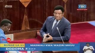 LIVE: Yaliyojiri Leo Bungeni Dodoma, Februari 6, 2020 Waziri Mkuu akijibu maswali ya papo kwa papo