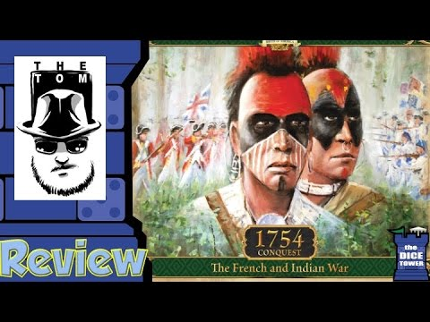 1754: Conquest - The French and Indian War Review - with Tom Vasel