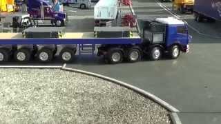 Camions RC 1/14 Trucks TAMIYA WEDICO SCALEART Zolder 20-09-2014 part 4