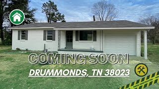 COMING SOON: Completely Renovated Rental in Drummonds, TN!