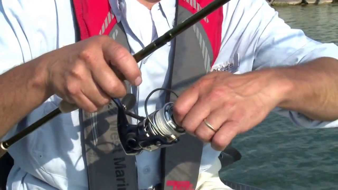 Fishing Techniques: Setting the Drag on a Spinning Reel