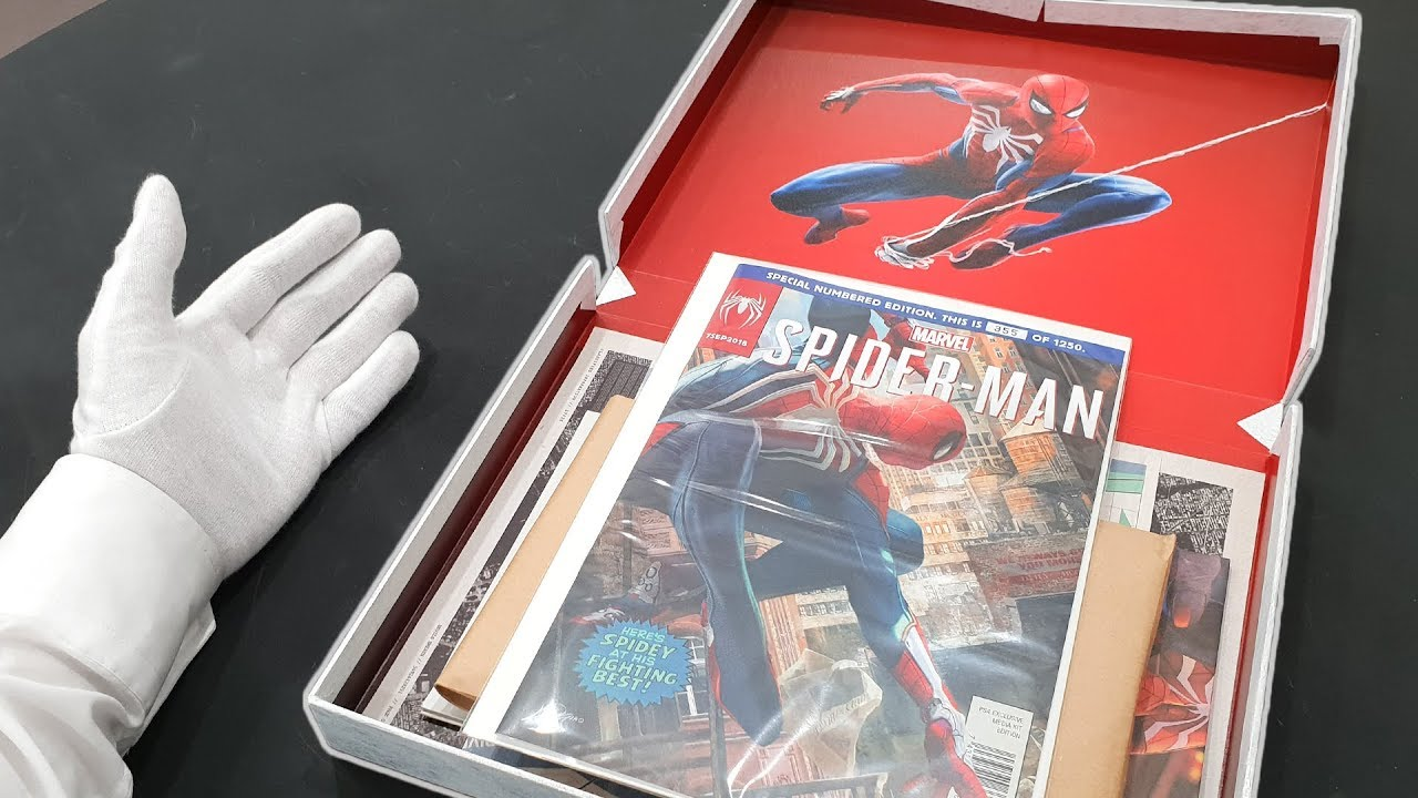 playstation 4 spiderman edition unboxing