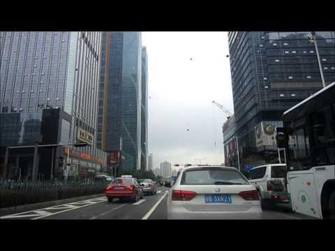 Shenzhen's Shennan Blvd - From 车公庙 to 福田口岸
