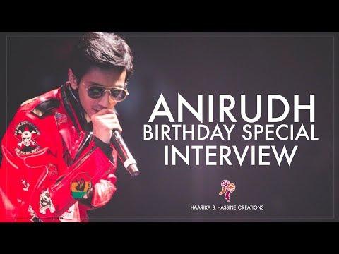 Anirudh Ravichander Birthday Special Interview || #Agnyaathavaasi || Pawan Kalyan, Trivikram