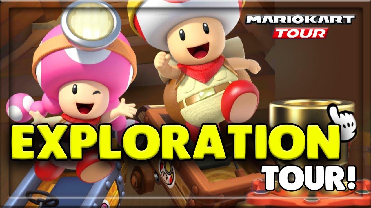 mario kart tour exploration tour characters