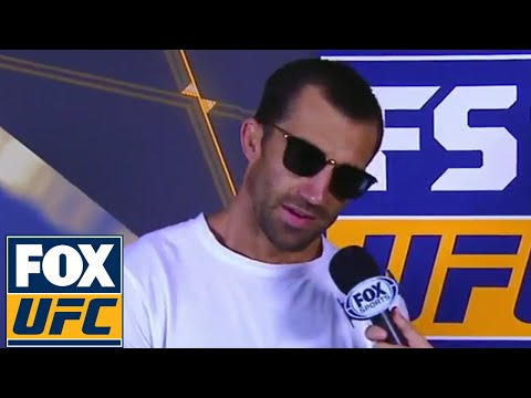 Luke Rockhold interview with Heidi Androl | Weigh-in | UFC FIGHT NIGHT
