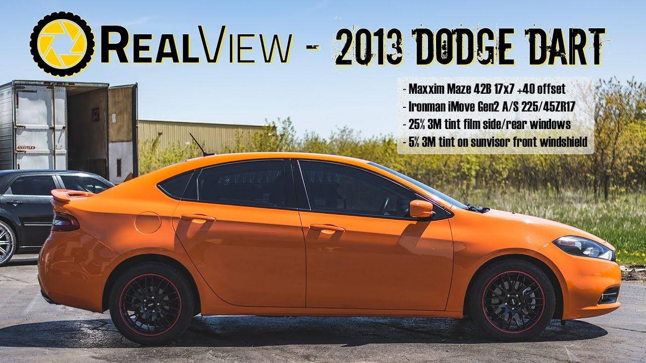 realview 2013 dodge dart w 17 maxxim maze 42bs 25 ironman imove gen 2 a s youtube. Black Bedroom Furniture Sets. Home Design Ideas