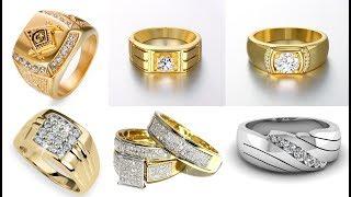 45 Best Design Gold Ring for Men 2018