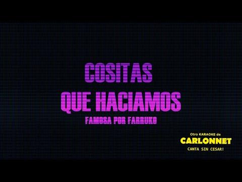 Cositas que haciamos -Farruko (Karaoke)