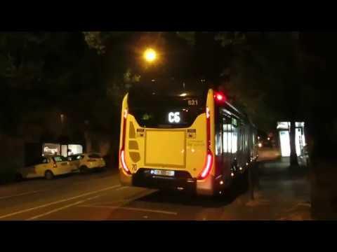 IVECO UrbanWay 18 CNG Voith #621 | Ligne C6 déviée | Réseau TAN de Nantes