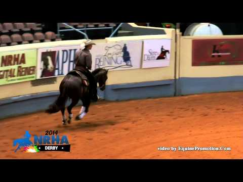 Spark Electric Style ridden by Bud Lyon - 2014 NRHA Derby (Open Derby First Go)
