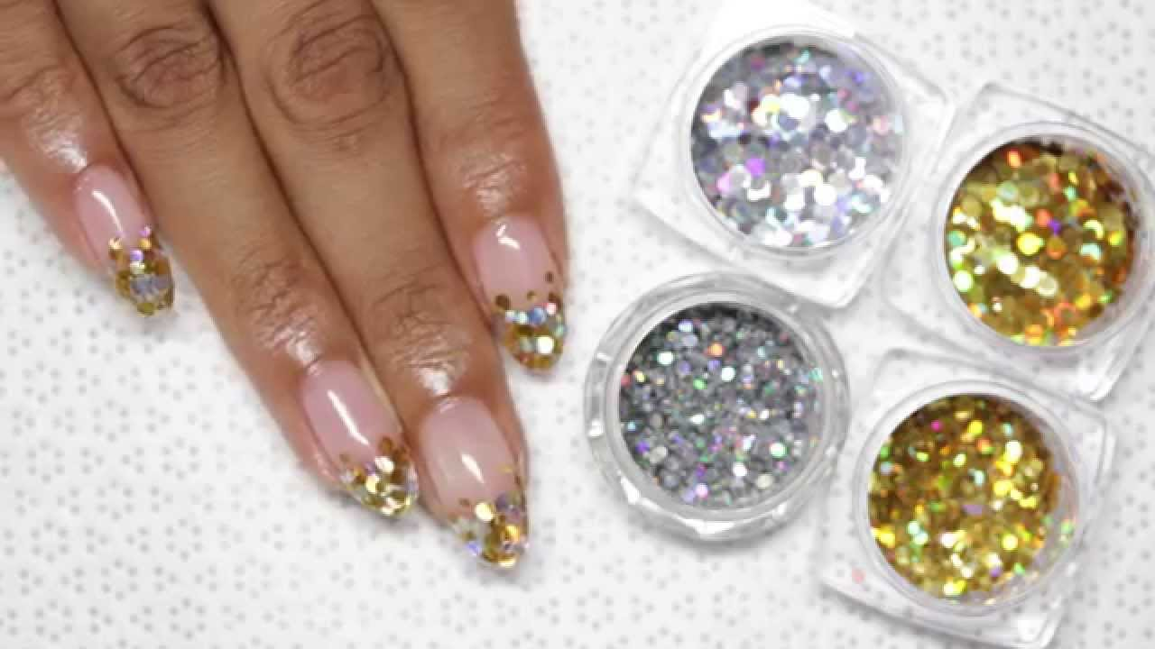 Encapsulated glitter easy gel nail art tutorial youtube prinsesfo Images