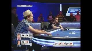 Европейский Покерный Тур 10. Барселона. Главное событие. Эпизод 9/9