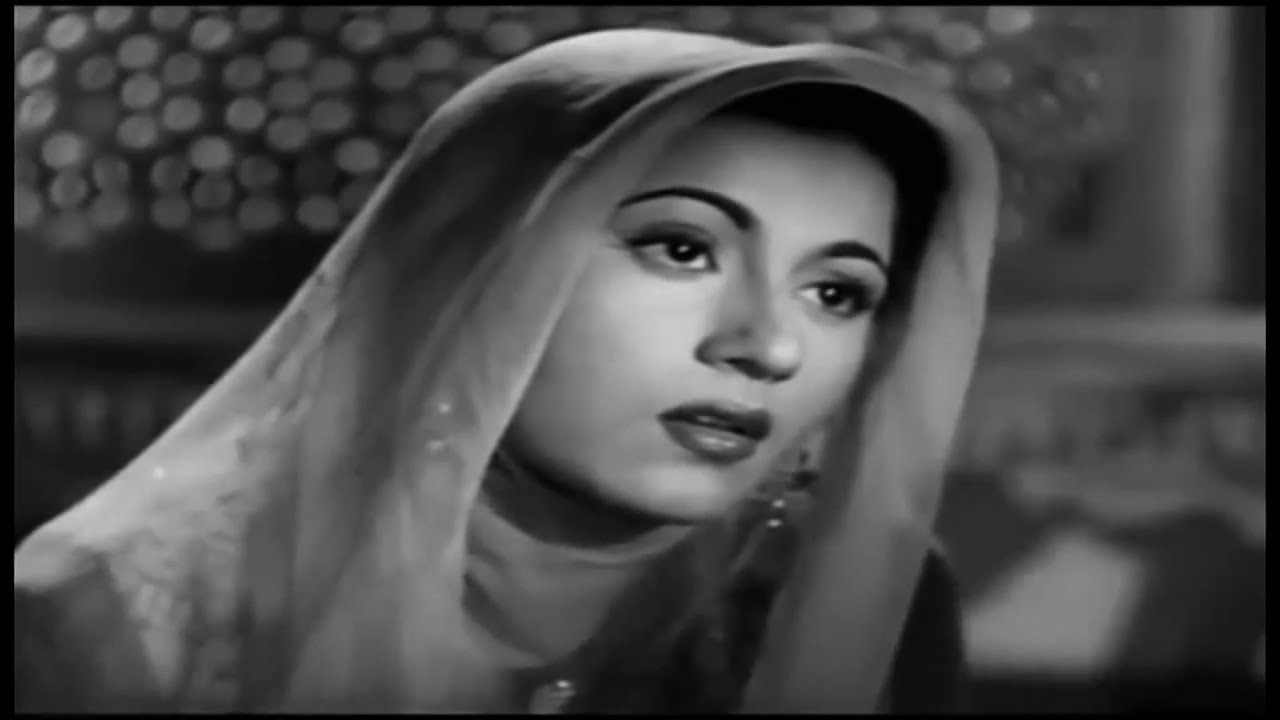 MUGHAL-E-AZAM movie Tere Mehfil Mein Lyrics