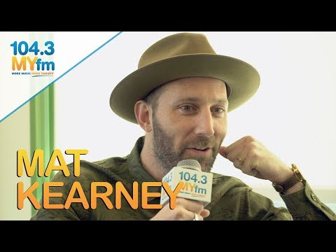 Mat Kearney Talks Becoming A Father, Touring & Meeting His Wife On Myspace!