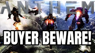 """EA and Bioware Admit Anthem Demo Will Not Reflect Full Game's """"Economy"""" and """"Balancing"""""""