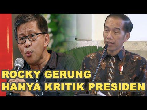Bukan Cuma Rocky, Pengamat Ini Juga Nilai Presiden Tidak Mengerti Pancasila