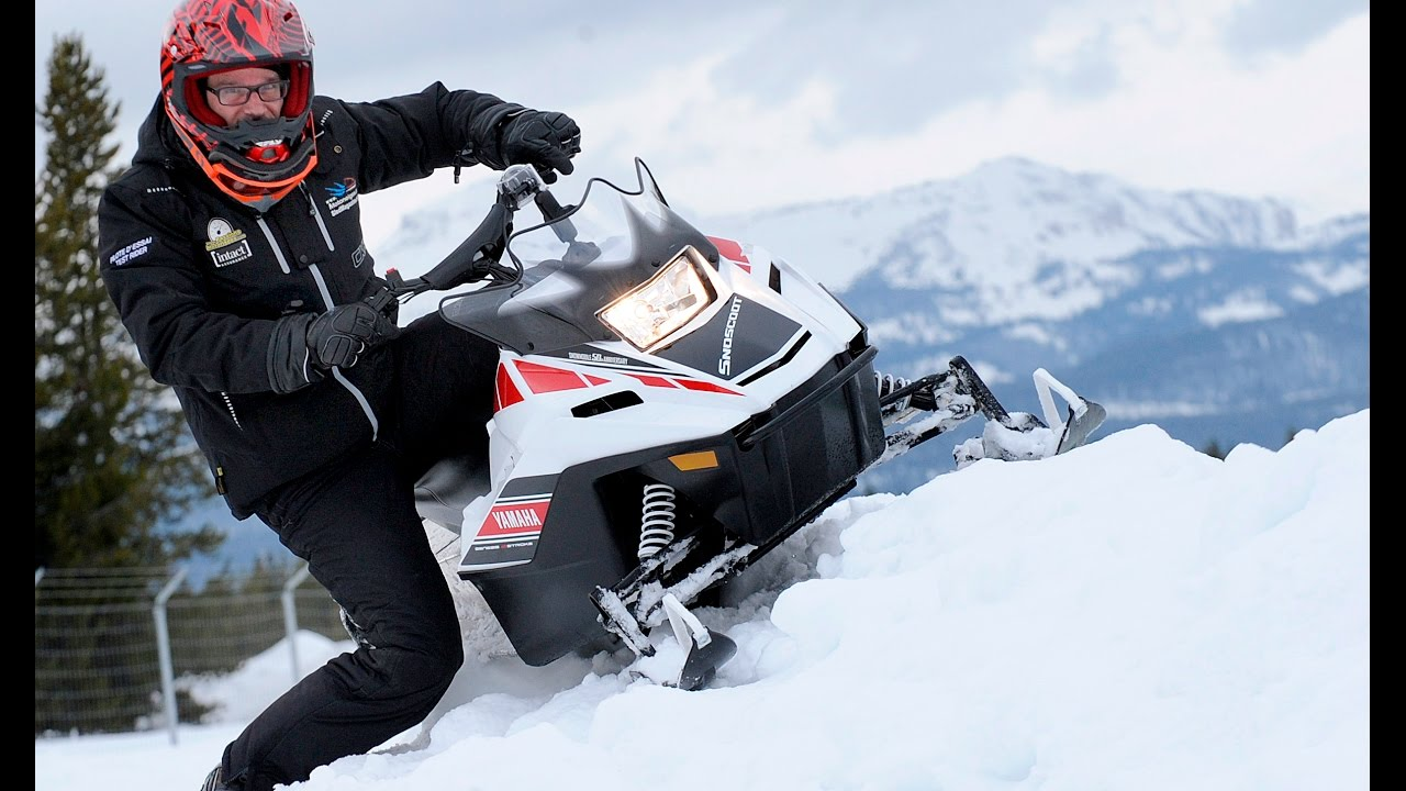 Yamaha srviper r tx et snoscoot 2018 youtube for Yamaha sno scoot