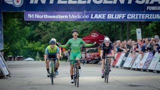 Crashes In the Rain - 2018 Intelligentsia Cup Pro Men Stage 2 - Lake Bluff Criterium