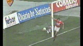 Ricardo Sá Pinto marca golo contra o Sporting