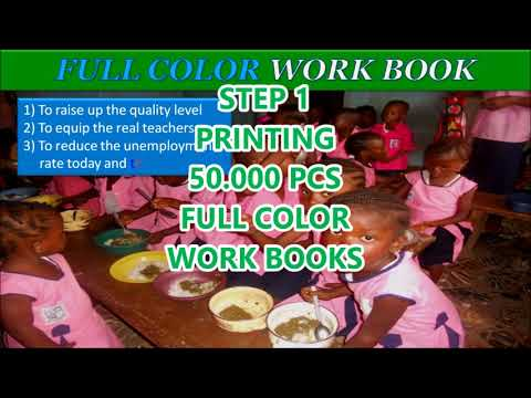 ORPHAN FUNDRAISE PROJECT KOYO TOWN WORK BOOK 2018