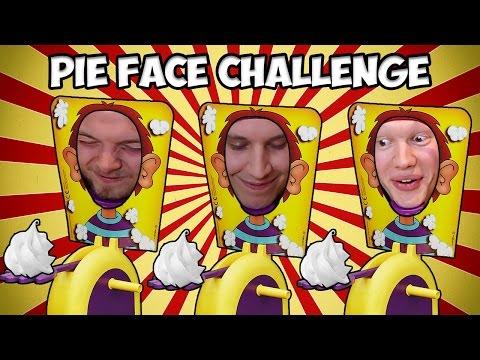 Pie Face Challenge w/iBallisticSquid & AshDubh