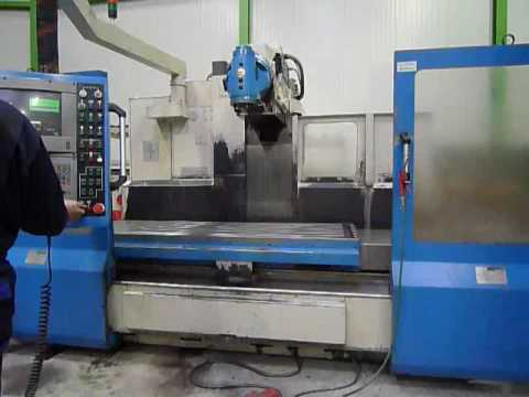 Used Kiheung bed milling machine for sale  YouTube