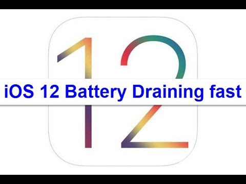 iOS 12 Battery Draining Fast (Fixed)