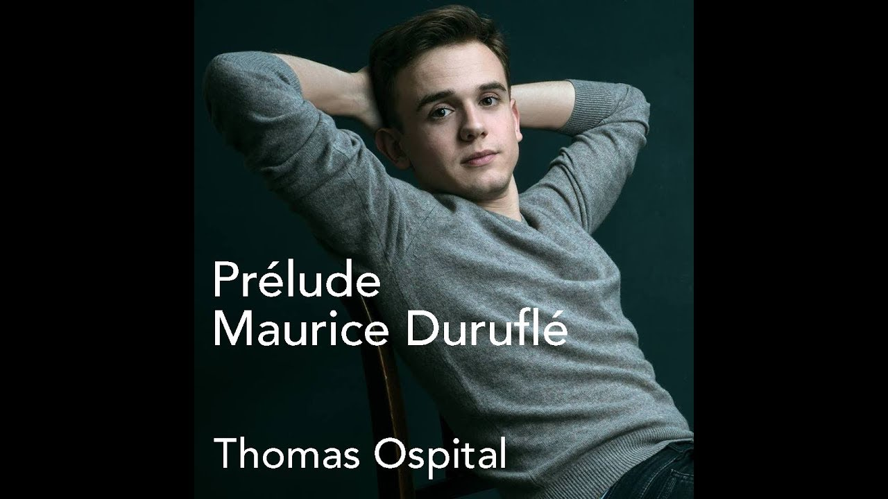Thomas Ospital plays Duruflé Prélude, Adagio, Choral on the Saint Sulpice organ
