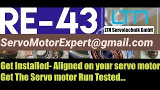 LTN Resolver RE-43 RE43 RE 43 instock |Align Adjust Install Servo motor India/ UAE Dubai