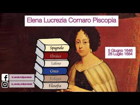 3) La prima donna laureata al mondo - Elena Lucrezia Cornaro