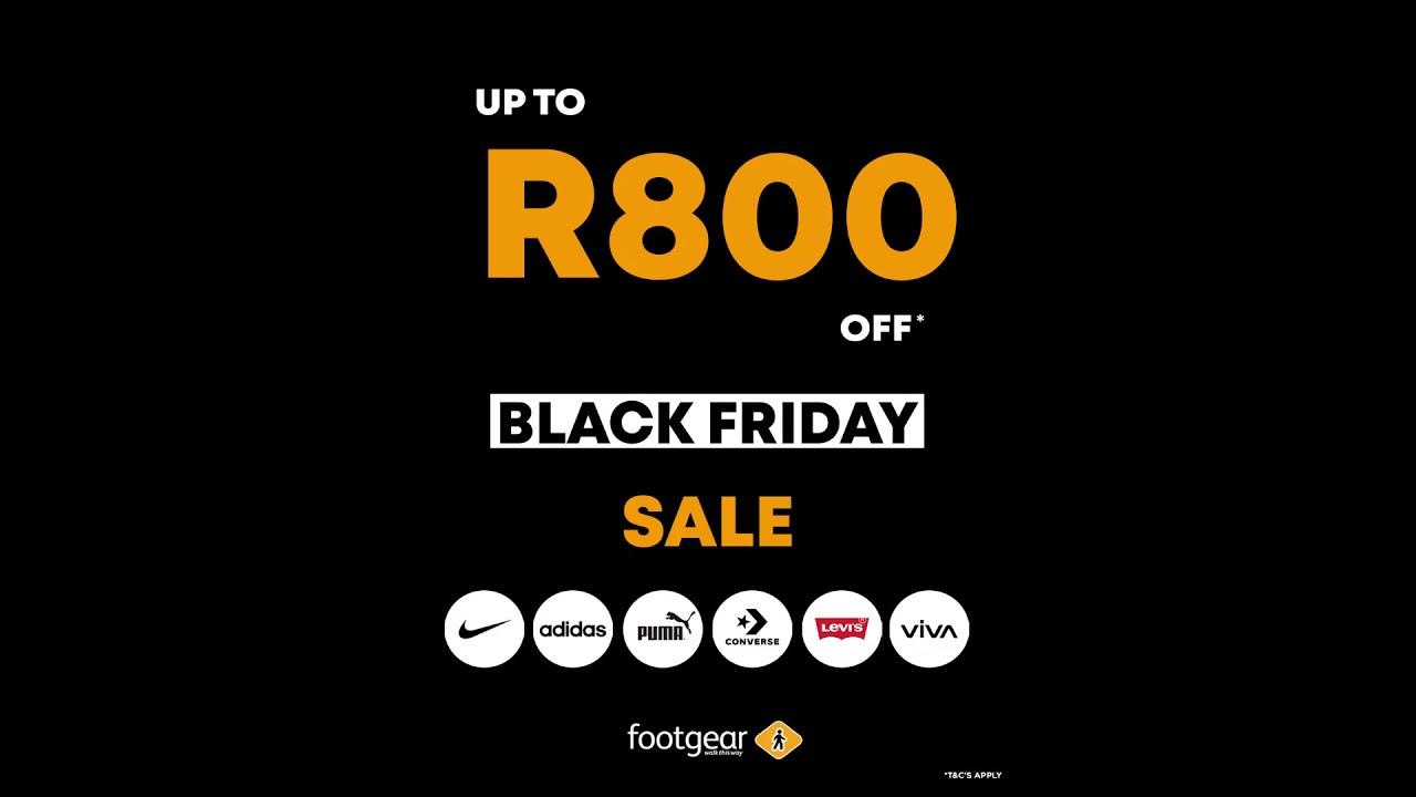 Footgear Black Friday | Get up to R800
