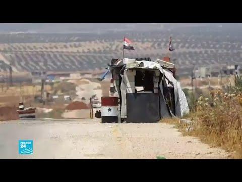 القوات السورية تحاصر نقطة المراقبة التركية في مورك