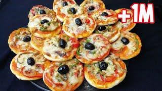 Pizza Maison Cuisson à la Poêle !!🔝  Recette facile et Toooop :)  RAMADAN2020