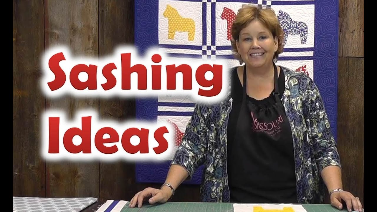 Quilt Sashing Ideas - Quilting Techniques - YouTube : sashing for quilts - Adamdwight.com