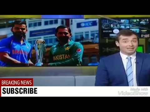 British Media on INDIA vs PAKISTAN Final Match | ICC Champions Trophy 2017😘😘😘