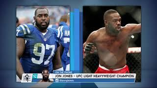 UFC Light Heavyweight Champ Jon Jones on Boxing & NFL: No, I Stay in my Lane | The Rich Eisen Show