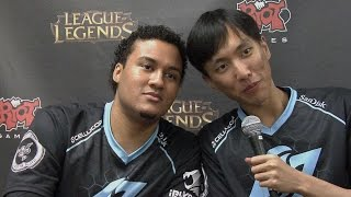 Best moments of Aphromoo and Doublelift duoQ #2 Ft Huhi