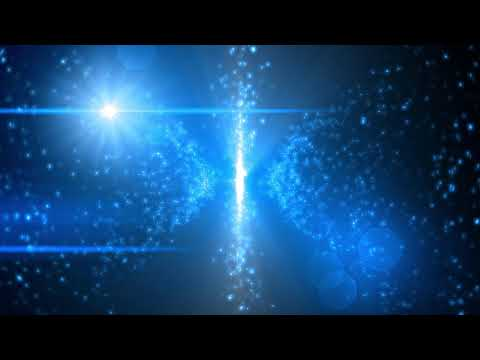 4K BLUE Moving Background - Sci-Fi Lens Flare #AAVFX