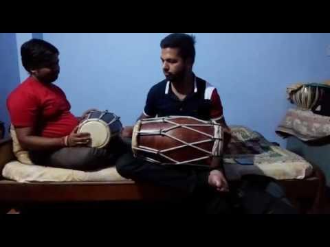 Dholak Playing Vicky Bhatt & Bittu Khare