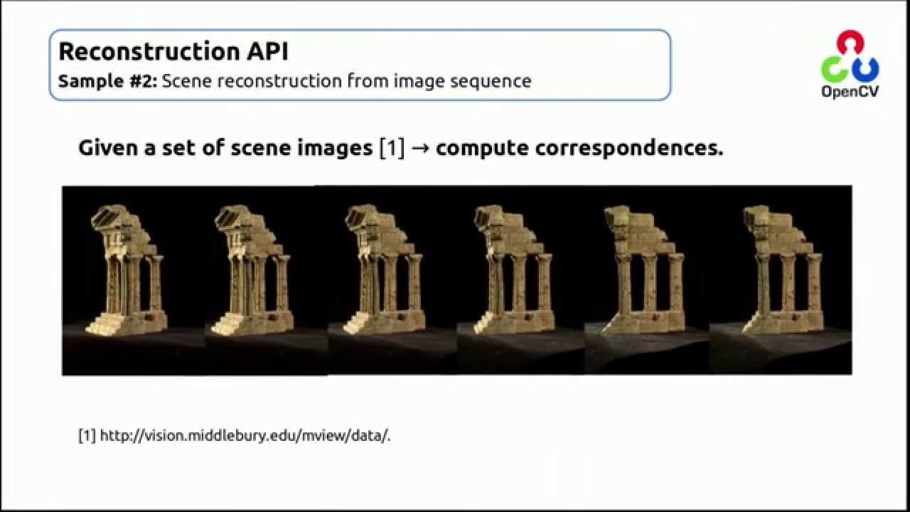 GSOC 2015 OpenCV: Structure From Motion Module - With Loop Control -  YouTube for Musicians