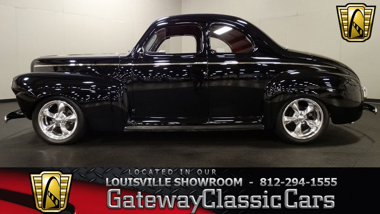 1941 Ford Buisnes Coupe Louisville Showroom Stock 1564 Youtube Red