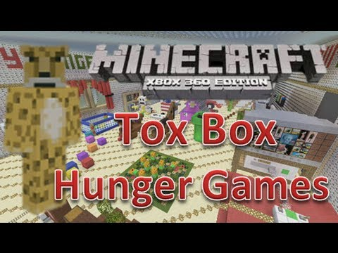 minecraft xbox 360 hunger games toy box 2 map