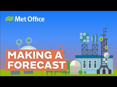 How A Weather Forecast Is Made - In 60 Seconds (ish)