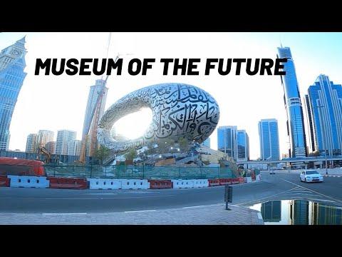 Virtual Walking Tour in the City  of Dubai I Downtown Dubai to Museum of the Future 09/15/2020
