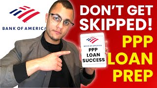 How to Prepare for Bank of America PPP Loan (MUST DO!)